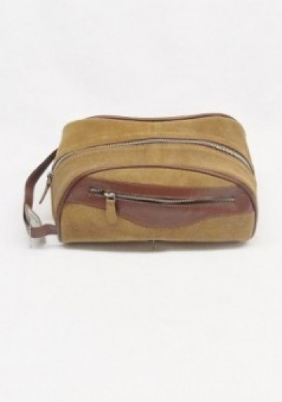 Bench Craft Dopp Bag  - Tan